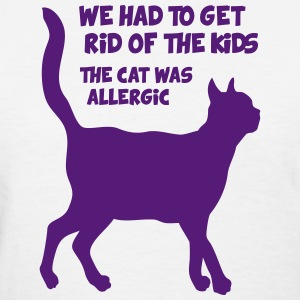 Cat allergy - Women's T-Shirt