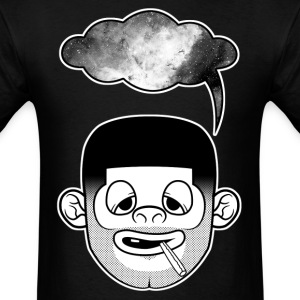 The SpaceHead Tee in FEAR - Men's T-Shirt