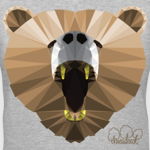 Hungry Bear Women's V-Neck T-Shirt - Women's V-Neck T-Shirt
