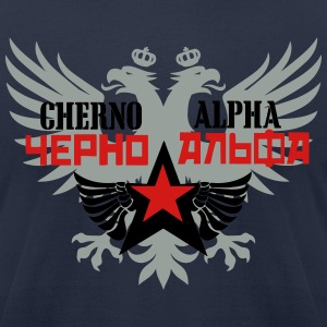 cherno_alpha2 T-Shirts - Men's T-Shirt by American Apparel