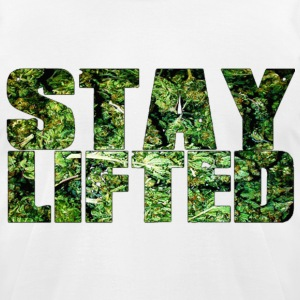 (herb) stay lifted. T-Shirts - Men's T-Shirt by American Apparel