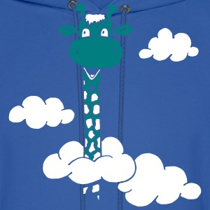 Giraffe in the clouds - Sweet Long Neck Hoodies - Men's Hoodie