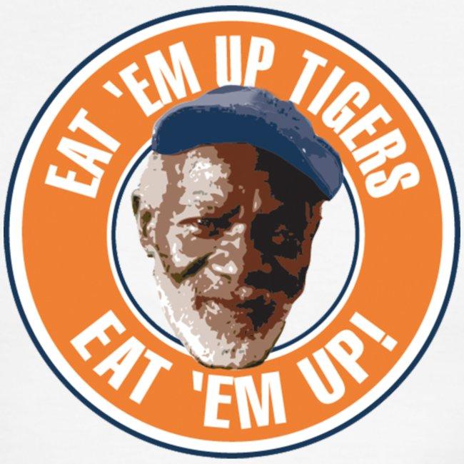 Eat Em Up Ringer t-shirt by American Apparel