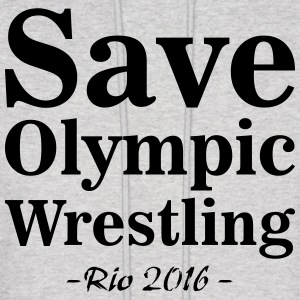 Save Olympic Wrestling Cover Photo Brazil Hoodies & S...