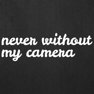 never without my camera Bags & backpacks - Tote Bag