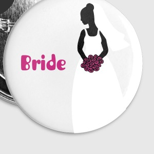 bride 1 Buttons - Small Buttons