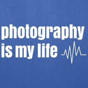 photography is my life Bags & backpacks - Tote Bag