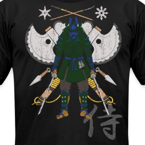 Samurai Shirt Front Kanji.png T-Shirts - Men's T-Shirt by American Apparel