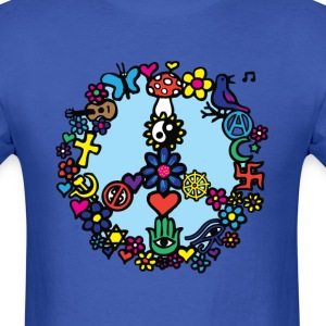Peace Sign - Men's T-Shirt