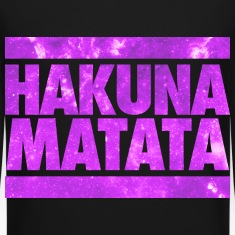 Hakuna Matata Galaxy Long Sleeve Shirts