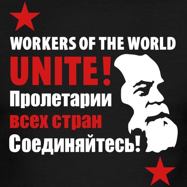Marxist Workers Ringer Tee