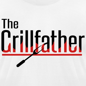 The Grillfather T-Shirts - Men's T-Shirt by American Apparel