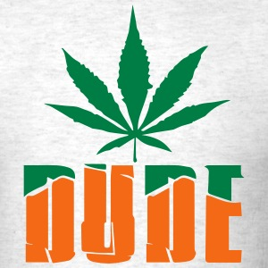WEED DUDE - Men's T-Shirt