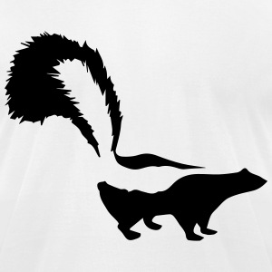 skunk T-Shirts - Men's T-Shirt by American Apparel