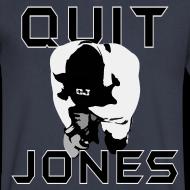 Design ~ Quit Jones VNECK Black Text