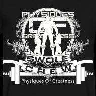 Design ~ Swole Crew V1 VECK White