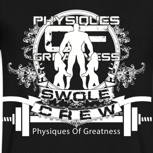 Swole Crew V1 VECK White