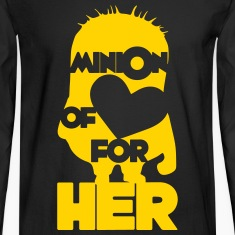 minion of love (boys) Long Sleeve Shirts