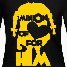 minion of love (girls) Long Sleeve Shirts