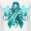 I Wear Teal for My Grandma T-Shirts - Men's T-Shirt