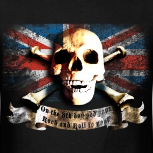 skull_and_flag_072013_gb_a T-Shirts - Men's T-Shirt