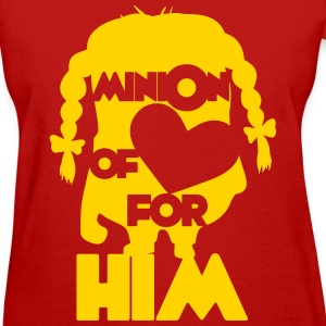 minion of love (girls) Women's T-Shirts - Women's T-Shirt