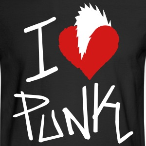 I Love Punk - Men's Long Sleeve T-Shirt
