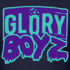 Glory Boyz Teal logo by Delao® MP T-Shirts