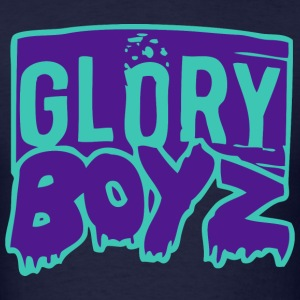 Glory Boyz Teal logo by Delao® MP T-Shirts - Men's T-Shirt