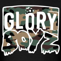 Glory Boyz Camo logo by Delao® T-Shirts