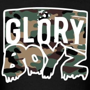 Glory Boyz Camo logo by Delao® T-Shirts - Men's T-Shirt