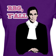 Design ~ RBG Y'all in Color (Ladies T)