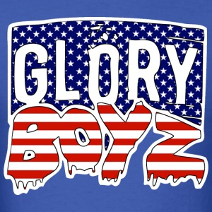 Glory Boyz USA logo by Delao® - Men's T-Shirt