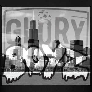 Glory Boyz City logo by Delao® - Men's T-Shirt