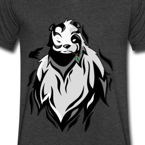 Epic Panda T-Shirts - Men's V-Neck T-Shirt by Canvas