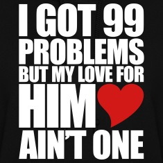 99 Problems for him Hoodies