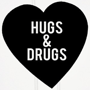 Hugs & Drugs  Hoodies - Men's Hoodie