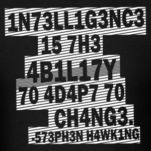 Stephen Hawking - Intelligence - Men's T-Shirt