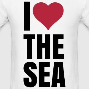 i love the sea T-Shirts - Men's T-Shirt