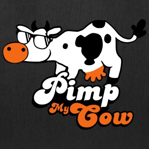 Pimp My Cow animal sunglasses Bags & backpacks - Tote Bag