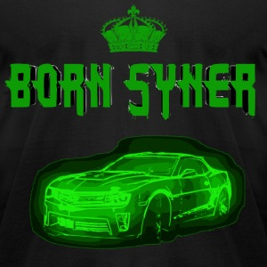 Born Syner (Camaro Shirt) T-Shirts - Men's T-Shirt by American Apparel
