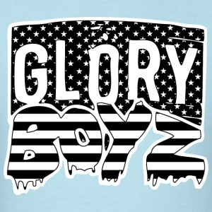 Glory Boyz USA logo by Delao®  T-Shirts - Men's T-Shirt