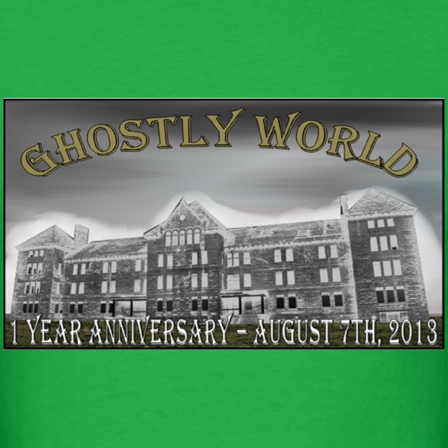 Ghostly World One Year Anniversary (Mens)