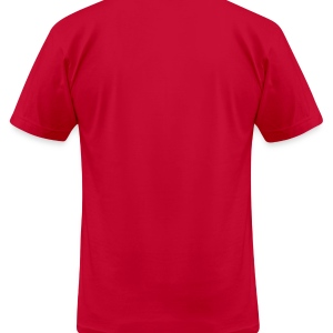 Team letter four 4 - Men's T-Shirt by American Apparel