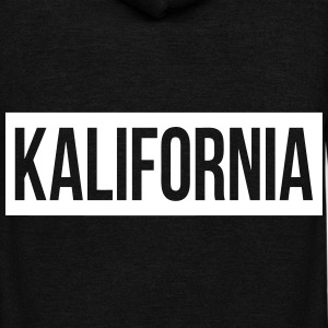 Kalifornia Zip Hoodies & Jackets - Unisex Fleece Zip Hoodie by American Apparel