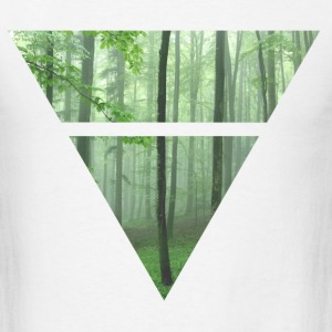 Triangle Trees - Men's T-Shirt