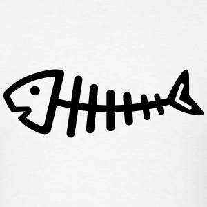 Fishbone T-Shirts - Men's T-Shirt