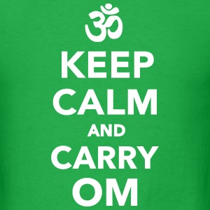 Keep calm and carry om T-Shirts - Men's T-Shirt