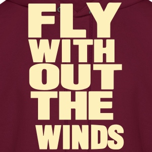 FLY WITHOUT THE WINDS Hoodies - Men's Hoodie