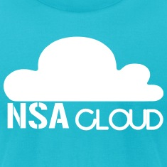 NSA in the Cloud T-Shirts